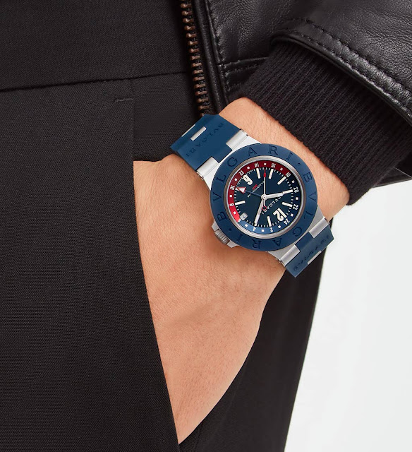 Bvlgari Aluminium GMT watch ref. 103554