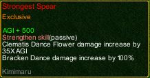 naruto castle defense 6.4 Strongest Spear detail