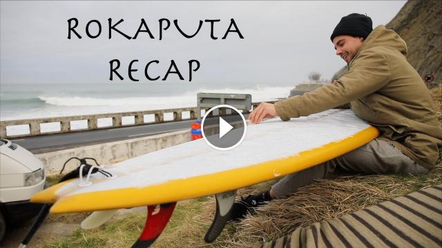 XL Basque Surfing Drone footage Rokaputa Recap