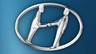 Logo merk Hyundai