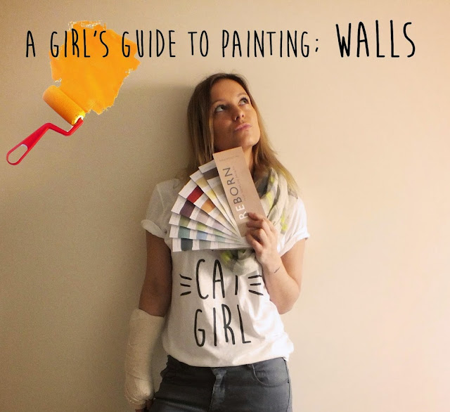 a girls guide how to paint your room walls