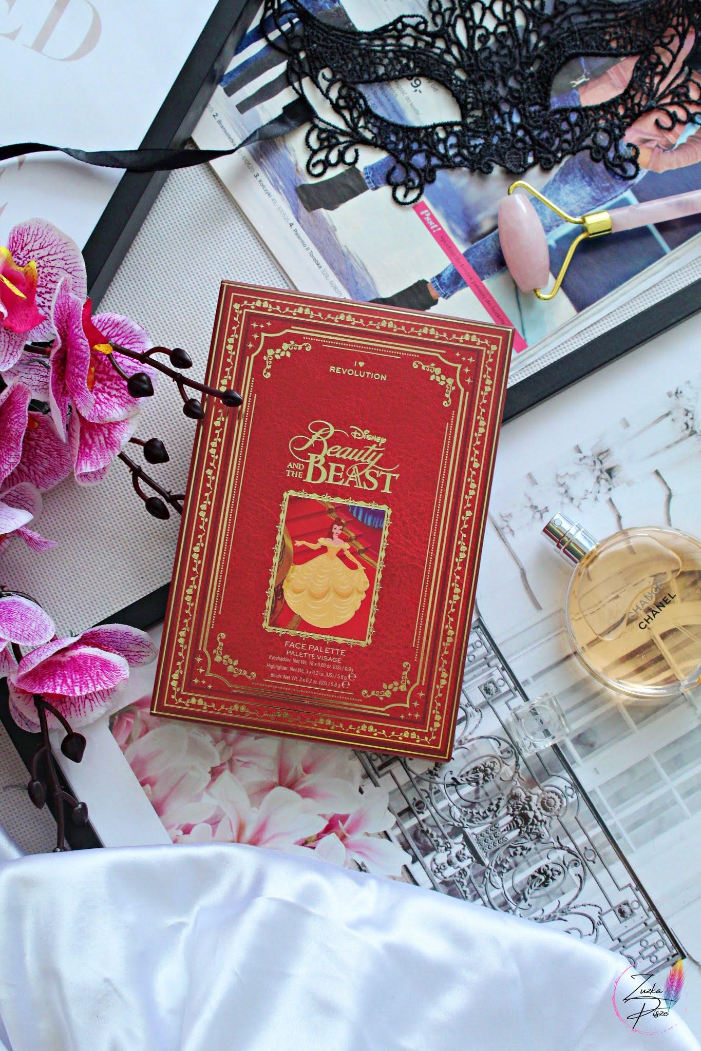 I Heart Revolution Beauty and the Beast Disney Storybook -  paletka do całej twarzy