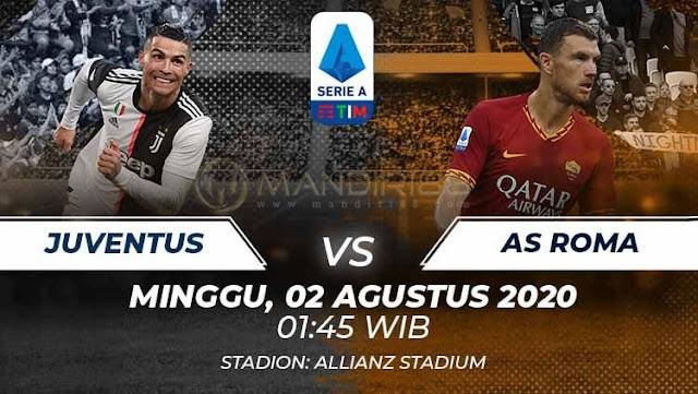 Prediksi Juventus Vs AS Roma, Minggu 02 Agustus 2020 Pukul 01.45 WIB @ RCTI