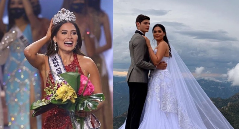 Is newly-crowned Miss Universe Andrea Meza married?