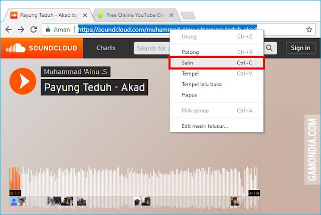 Cara Download Musik di SoundCloud dengan Savefrom.net