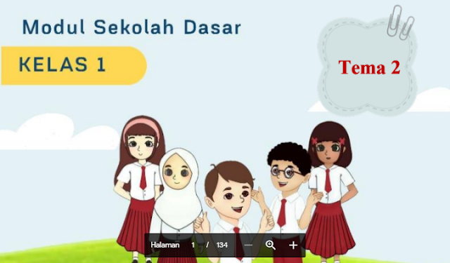 Modul Belajar dari Rumah untuk Kelas 1 Tema 2