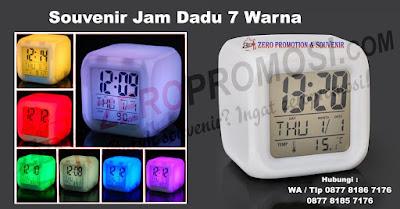 Jam Dadu Moody Warna Warni, souvenir jam Meja, Barang Promosi Jam Dadu Lampu, Moody Clock, Jam Kubus, Jam Dadu Polos, Jam Digital Berubah 7 Warna, Souvenir Promosi Jam Dadu, Jam Digital Dadu, Jam Dadu promosi 7 Warna, Jam Aurora, Jam kotak