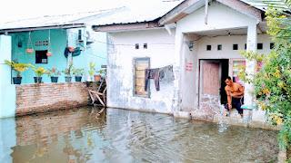 Hari Ketiga,  Ratusan Rumah Warga di Sei Mati Masih Terendam Banjir