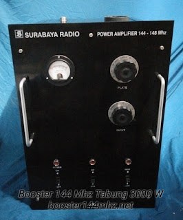 Booster 144 Mhz Tabung 3000 W Lengkap dengan Power Supply