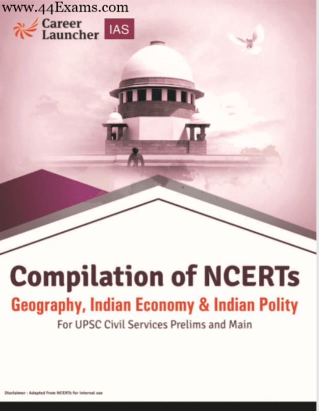 Compilation-of-NCERT-Geography-Indian-Economy-and-Indian-Polity-For-UPSC-Exam-PDF-Book