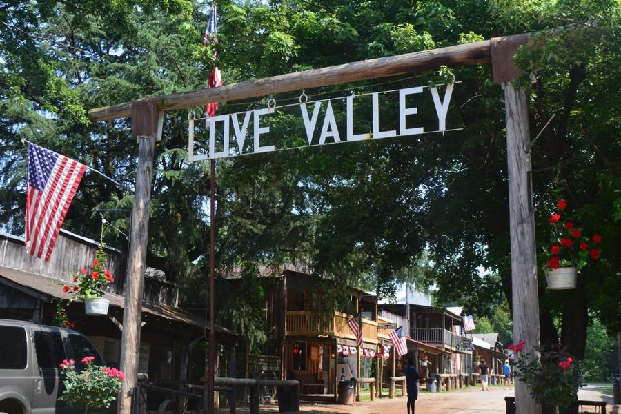 Porte entrée Love Valley