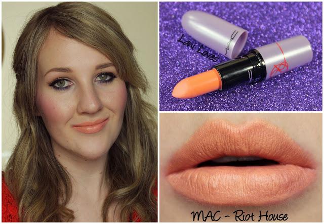 MAC Riot House lipstick swatch
