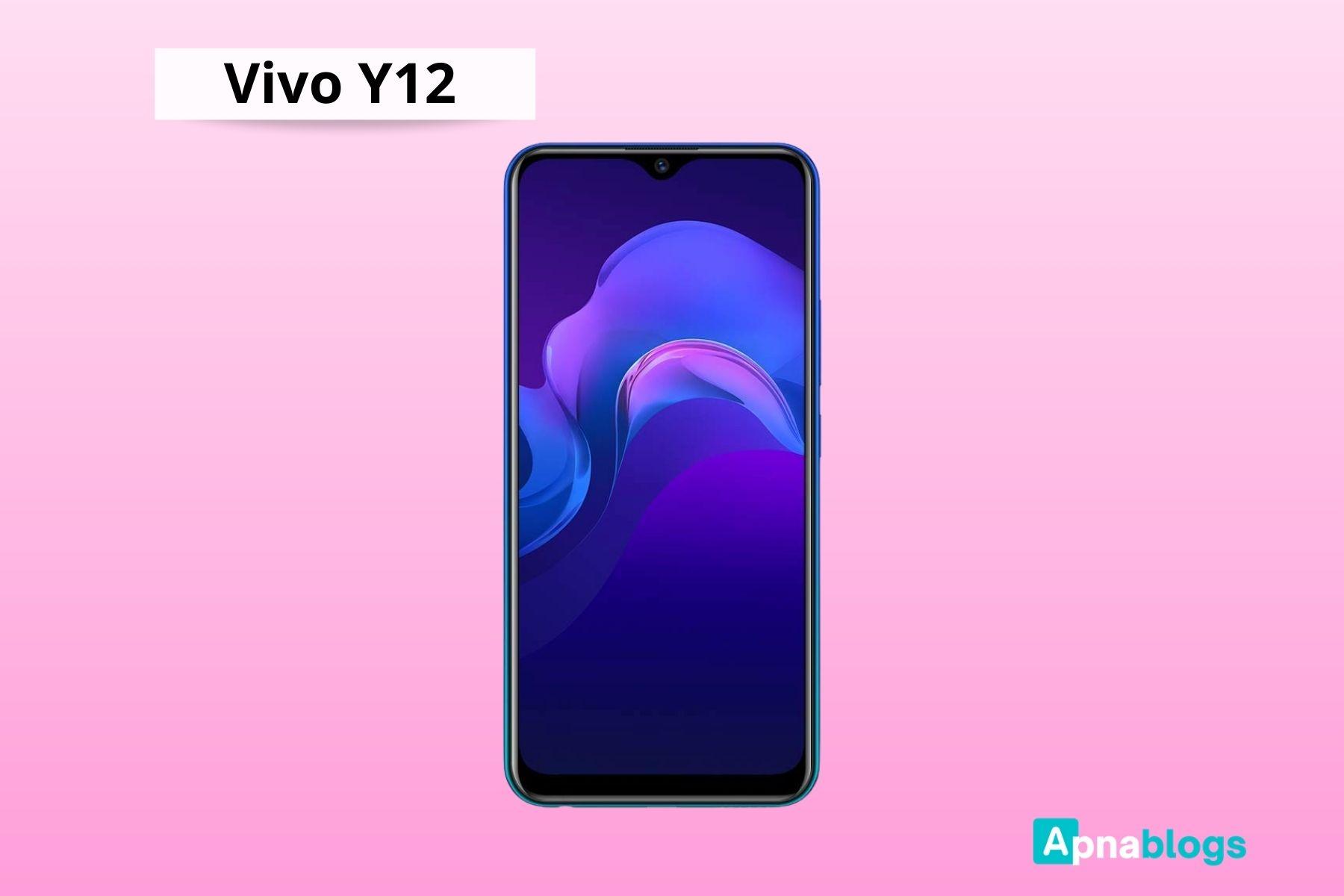 Vivo Y12