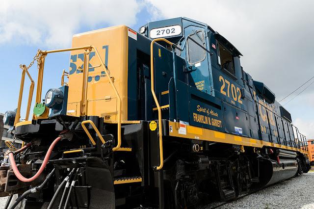 "CSX GP38-2 2702 ""The Spirit of Atlanta"""