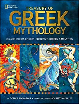 Treasury of Greek Mythology Donna Jo Napoli