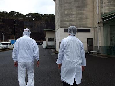 精肉工場にて
