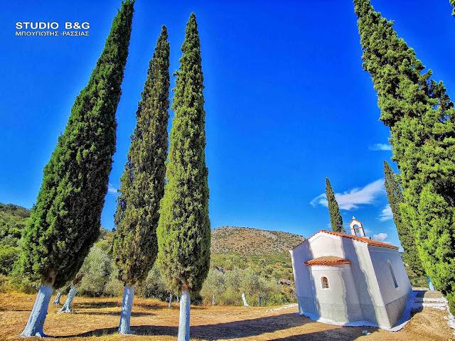 Το πανέμορφο εκκλησάκι της Αγίας Μαρίνας στο Ναύπλιο