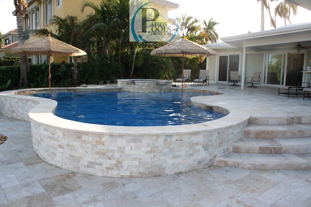 Elegant Travertine Pavers West Palm Beach To Fort
