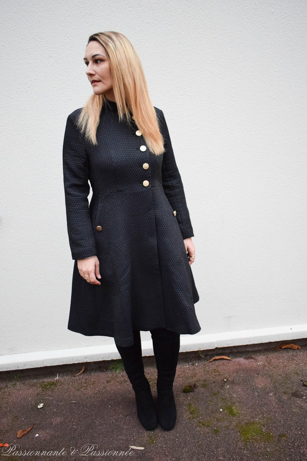 manteau long habillé