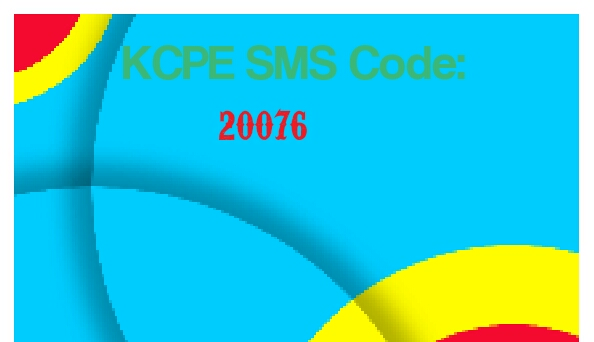 2019 KCPE exam results SMS code 20076