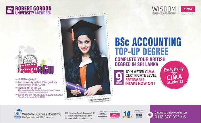 British Accounting Top-Up Degree for CIMA Students