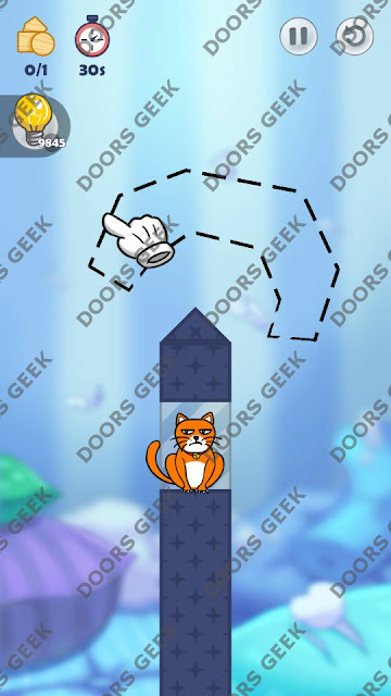 Hello Cats Level 89 Solution, Cheats, Walkthrough 3 Stars for Android and iOS