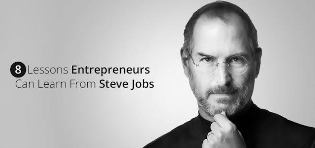8 Lessons of Apple Founder Steve Jobs