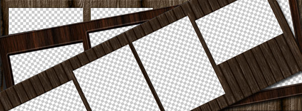 Free Wood Facebook Cover Automated PSD Templates
