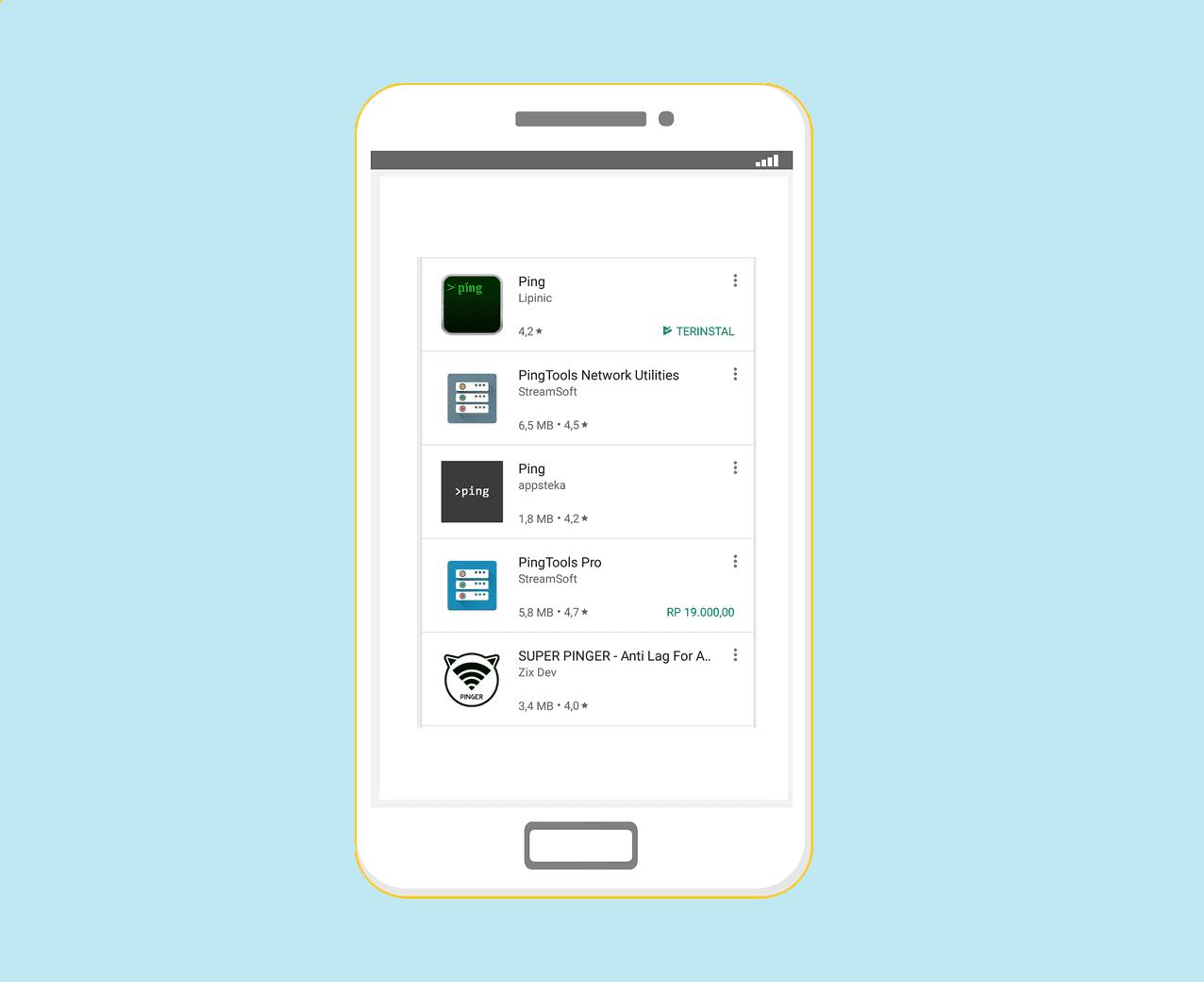 Melancarkan koneksi game Android