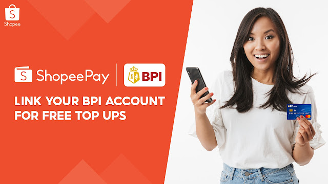 ShopeePay Makes Top Ups Easier with BPI