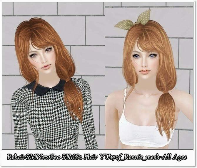 Sims 2 Hairstyles: The Sims 2 Finds: SimsSM: RehairSMNewSea SIMS2 Hair YU170f