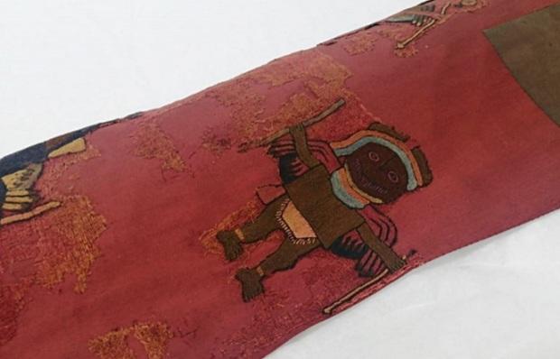 Perú recibe los últimos textiles de la cultura Paracas que se encontraban en Suecia