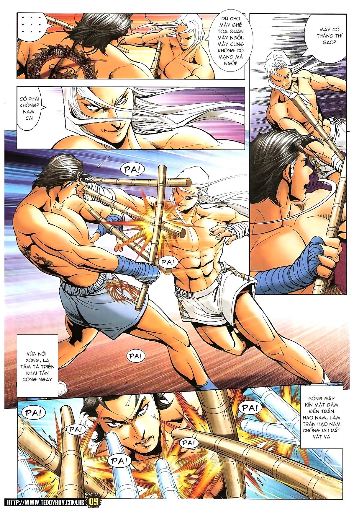 Người Trong Giang Hồ - Chapter 1633: Ác chiến La Tâm Tá 2 - Pic 6