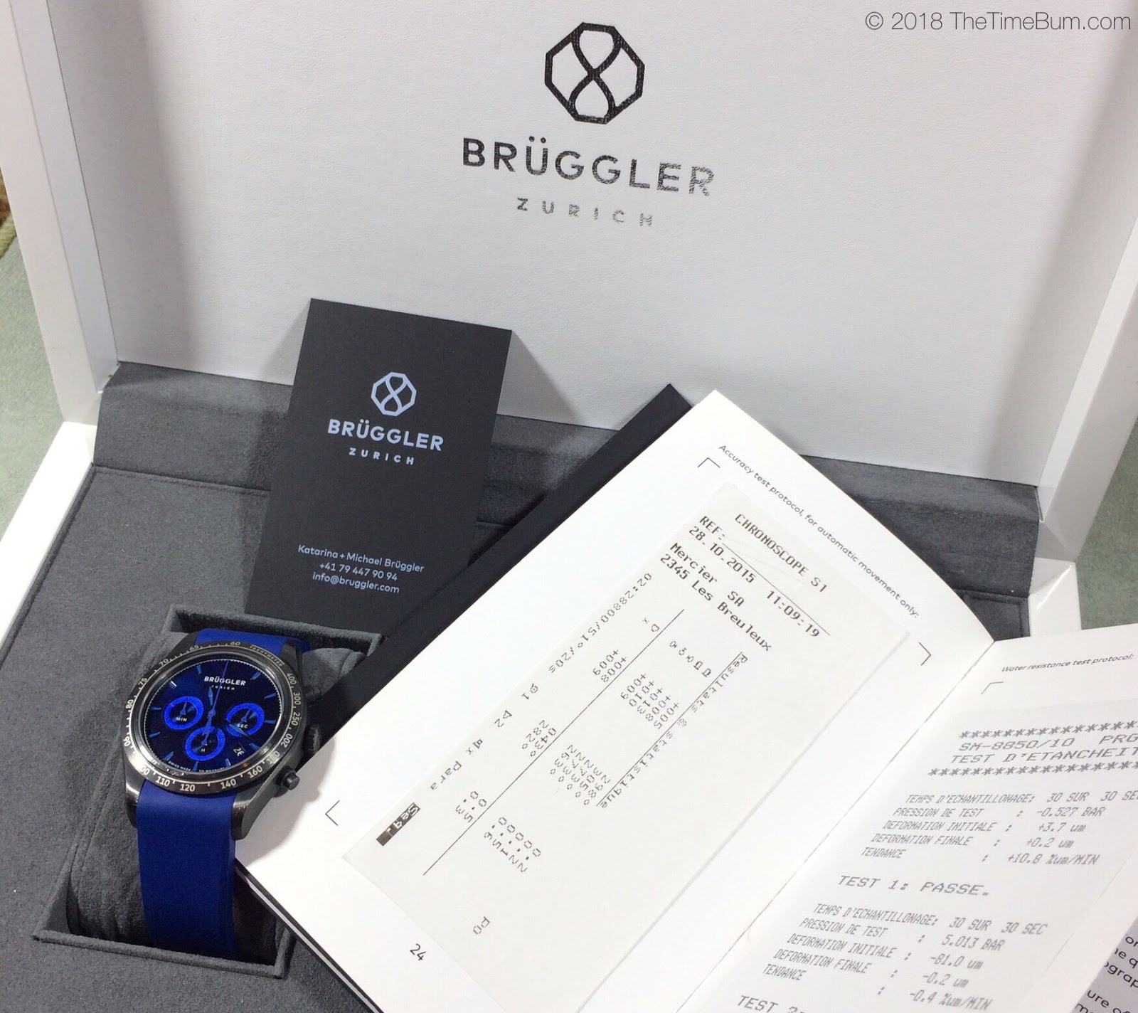 Bruggler Chronograph full kit