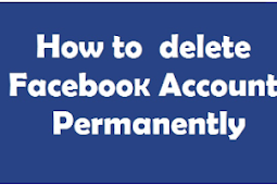 How to Permantly Delete Facebook