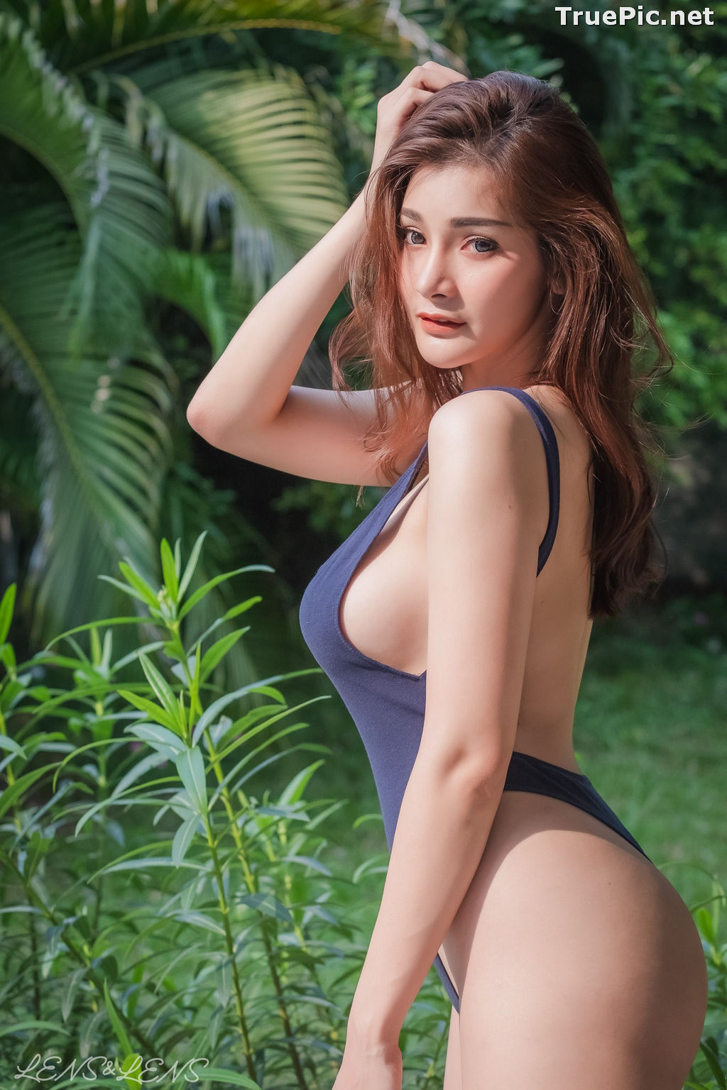 Image Thailand Model - Porntapawee Sripreserth - Concept Sexy One Piece - TruePic.net - Picture-1
