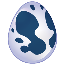 Appearance of Rorschach Dragon when egg