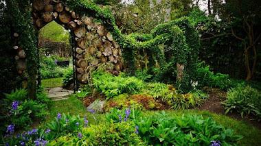 Sakonnet Garden, un jardín casi secreto apoyando las praderas de Rhode Island