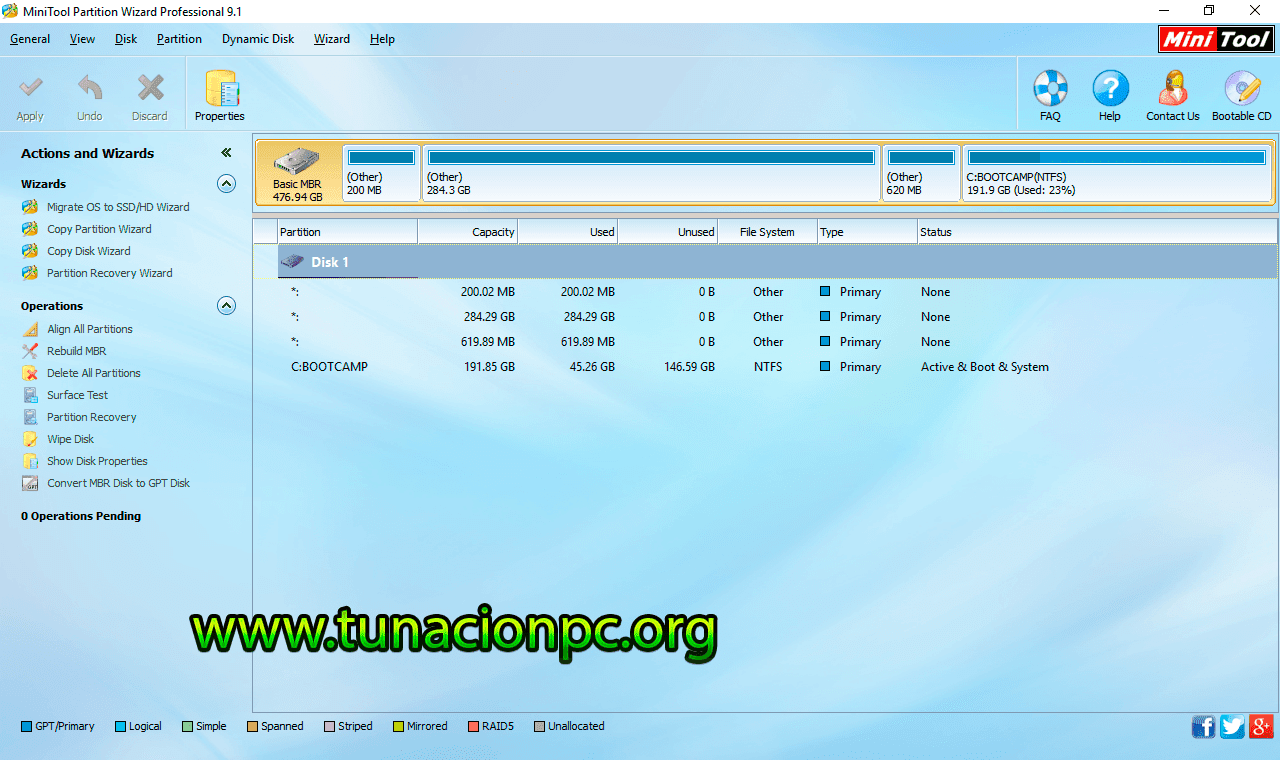 MiniTool Partition Wizard All Editions Imagen