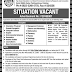 Kohat University Of Science And Technology Kohat Jobs
