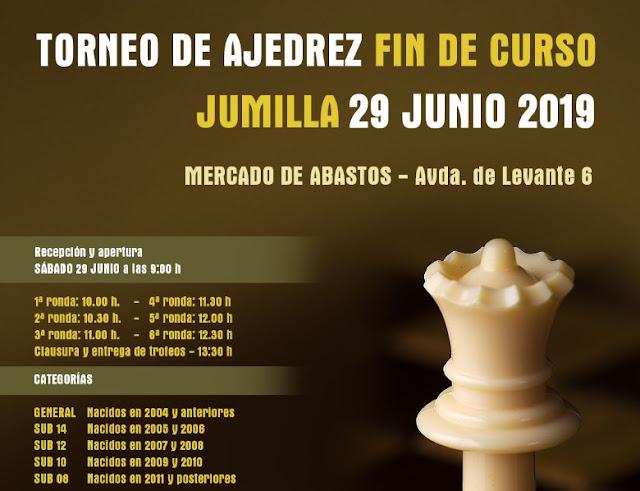 29 junio, Torneo fin de curso Jumilla
