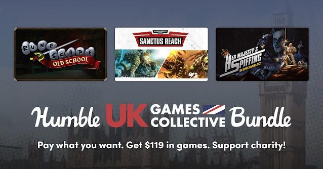 Humble UK Games Collective Bundle - 10美金8款遊戲
