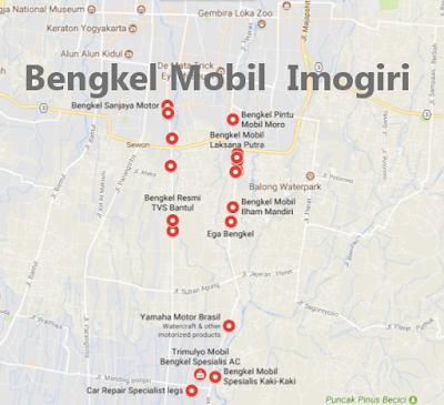 Alamat Bengkel Variasi Mobil Imogiri, Bantul