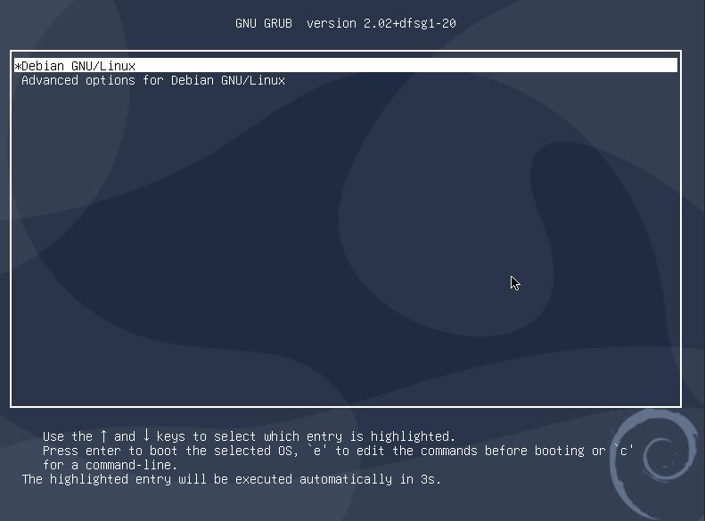 Update GRUB Bootloader on USB Stick After Installing Debian 10