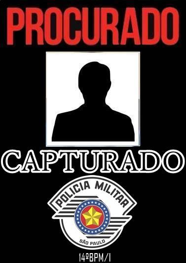 POLÍCIA MILITAR CAPTURA PROCURADO DA JUSTIÇA EM BARRA DO TURVO