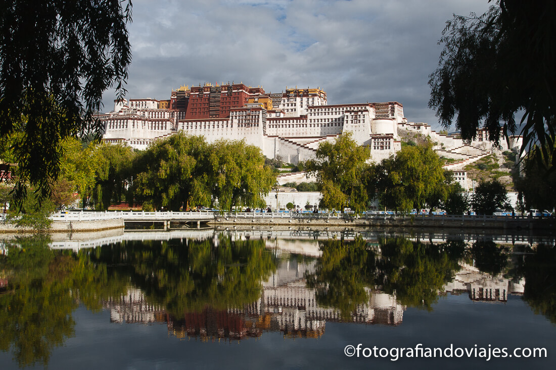 Palacio Potala Lhasa Tibet itinerario viaje