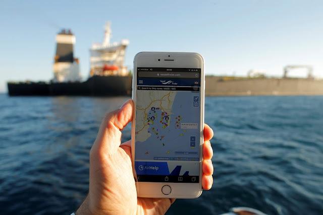 الناقلة الإيرانية أدريان داريا  تفرغ حمولتها في ميناء تركي