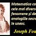 Citatul zilei: 21 martie - Joseph Fourier