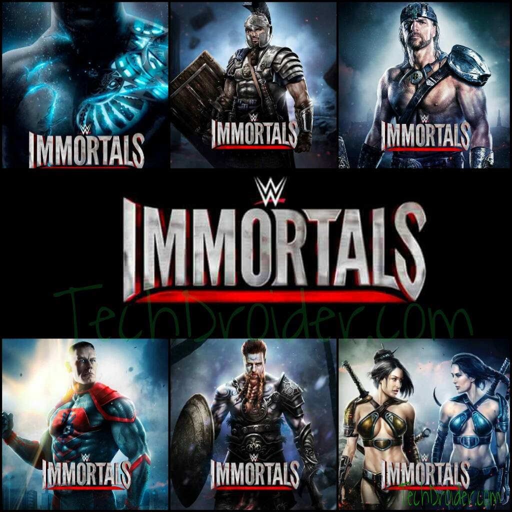 Wwe Immortals New Fighting Game Coming Soon