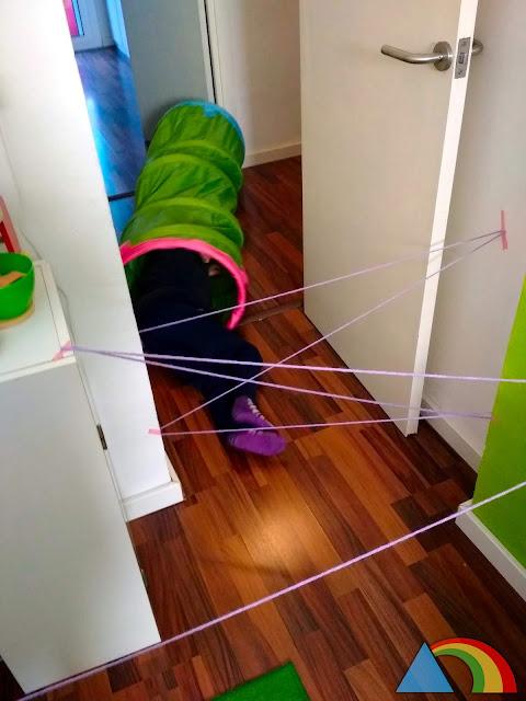 Laberinto de cuerda